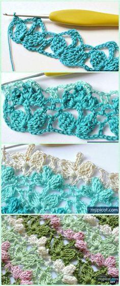 Crochet Popcorn Flow | häkeln | Pinterest | Häkeln