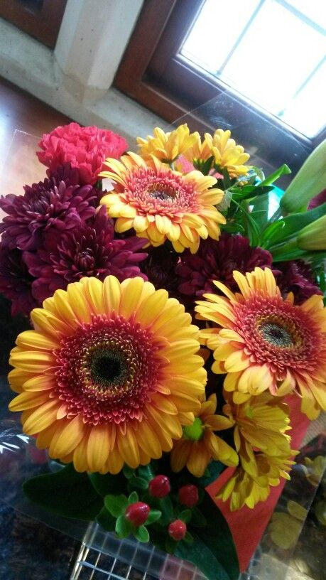 My mum got me some gorgeous flowers from Tesco - love the fabulous ...
