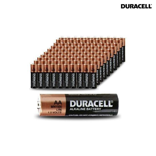 100 Pack 80 Aa 20 Aaa Duracell Batteries Duracell Duracell Batteries Batteries