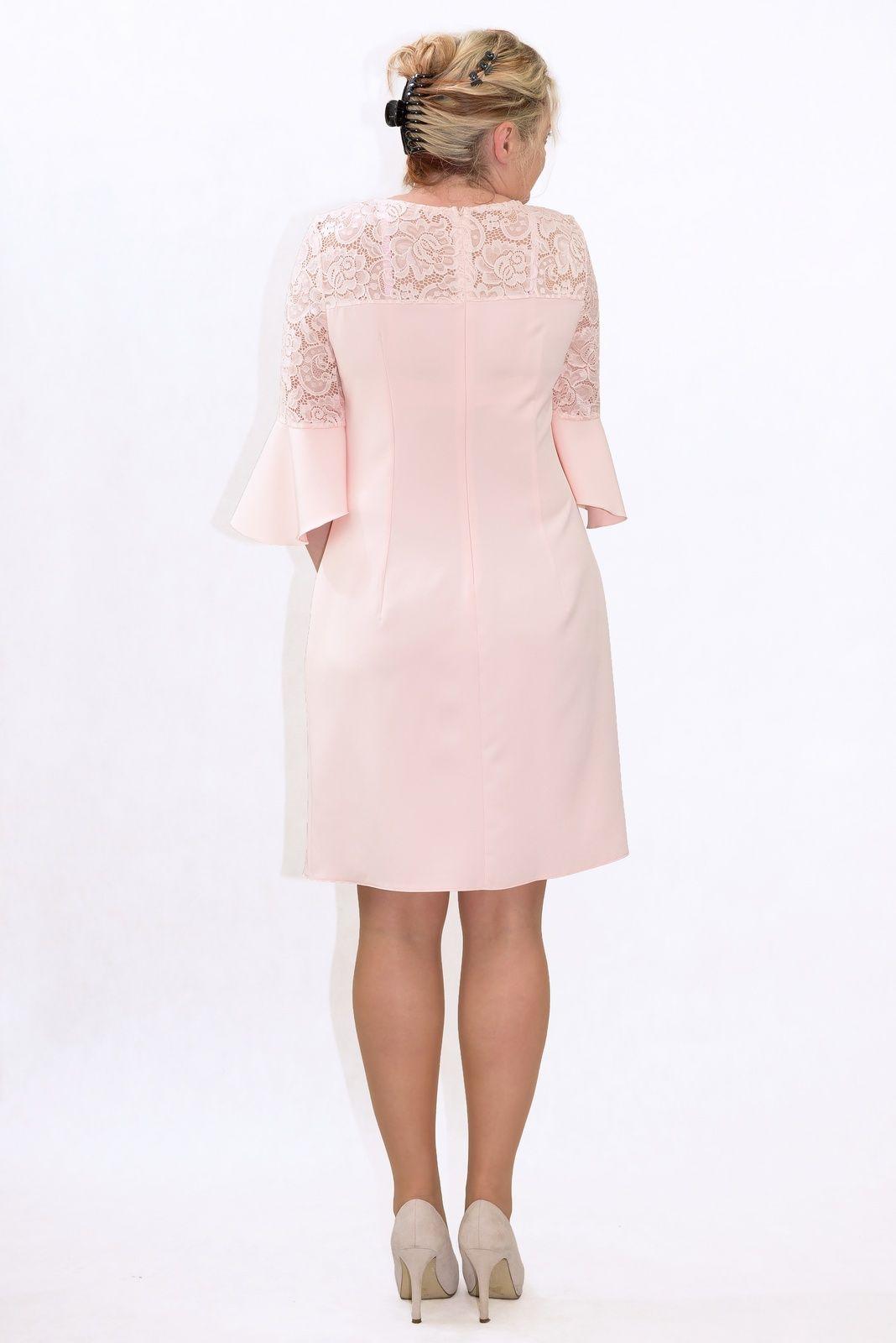 5f456f5254bb Elegancka sukienka XXL 40-60 na wesele PAOLA duże rozmiary - XELKA ...