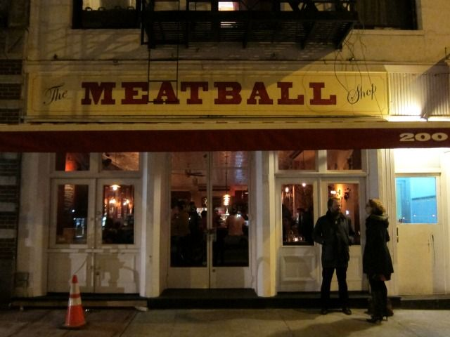 The Meatball A Trendy Italian Restaurant Now Open In Chelsea Nyc Lower