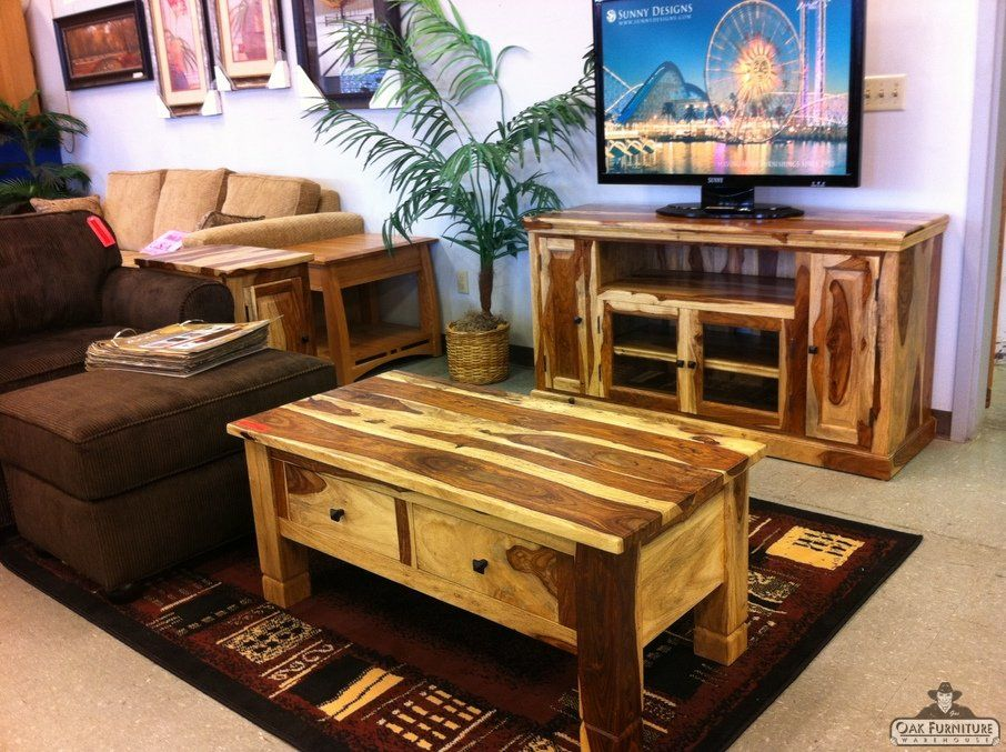 Sheesham TV Coffee end tables portland oregon