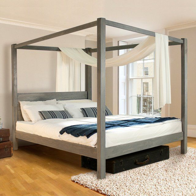 Our Low Four Poster Bed Is A Lavish Addition To The Growing Choice Of Handmade Wooden Beds In Range This Frame Has Same Great Style And