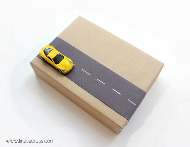 """""""Lines Across"""": Interactive Gift Wrap for Kids"""