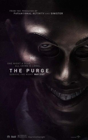 The Purge Movie Poster from AllPosters.com