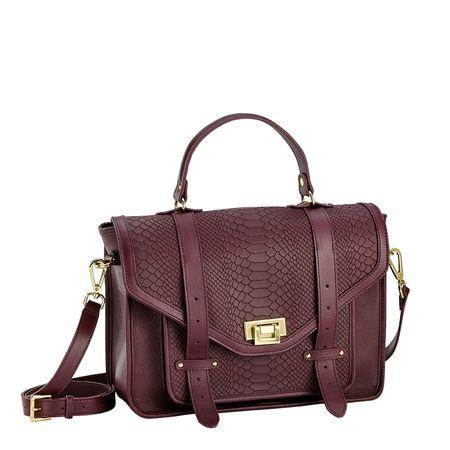Burgundy Satchel Handbag | All Discount Luggage
