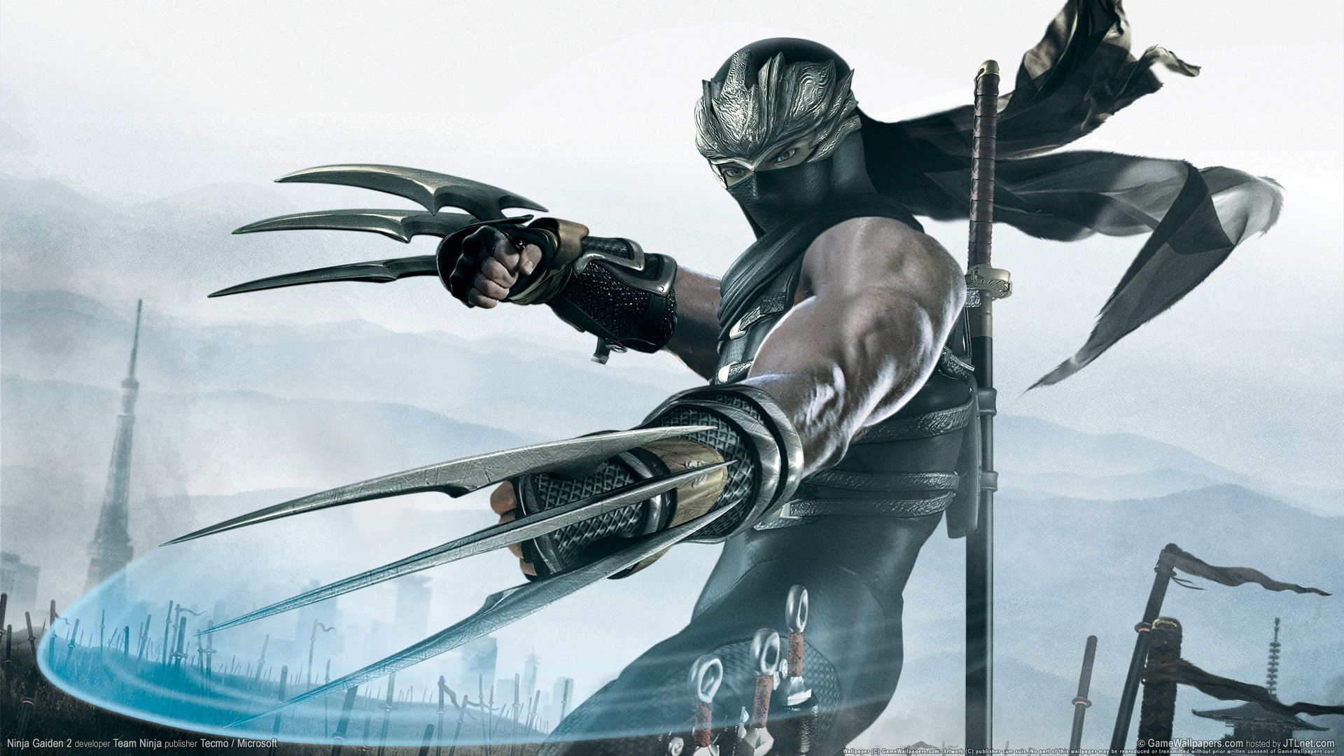 Ninja Gaiden 2 Hdtv 1080p Hd Game Wallpapers Ninja Gaiden