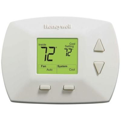 Honeywell Deluxe Digital Non Programmable Thermostat Rth5100b