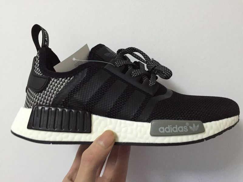 quality design 182b6 1dfd3 Discount Adidas NMD PK Runner men black Grey Shoes UK Sale