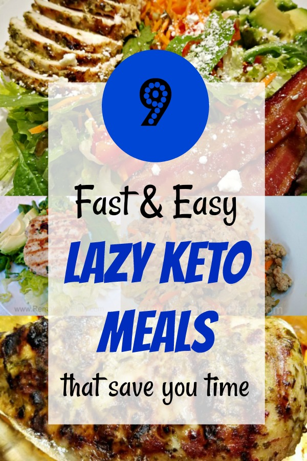 9 Lazy Keto Recipes That Save You Time Easy Keto Meal Plan Keto Diet Meal Plan Keto Diet For Beginners