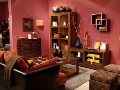 Ristrutturare casa stile etnico tintura pareti for Colori pareti salotto moderno