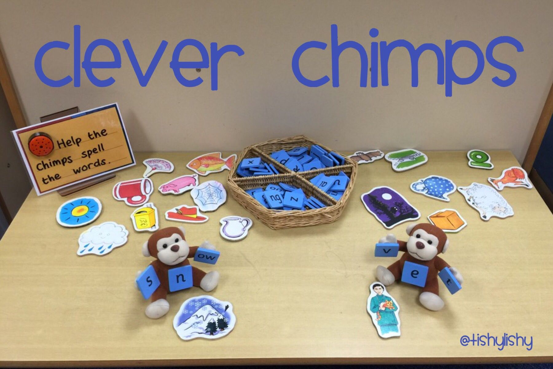 Phonic Challenge Table Clever Chimps A New Resource In
