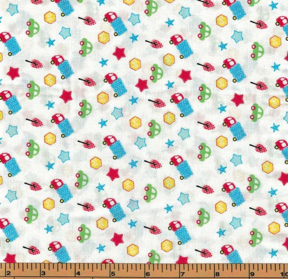 Small Car & Truck Toss on White Background- Urban Zoo Collection by Galaxy Fabrics  100% Cotton High Quality Designer Fabric  This listing is for either a fat quarter, 1/2 yard or 1 yard cut. Be sure to choose which length you would like. More yardage is available, please convo me if you would like more than what is listed.  Check out our other listings for more coordinating fabric from this collection…