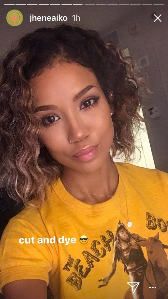 Pin By Sicardtricia On Hair Jhene Aiko Curly Hair Styles Gorgeous Braids