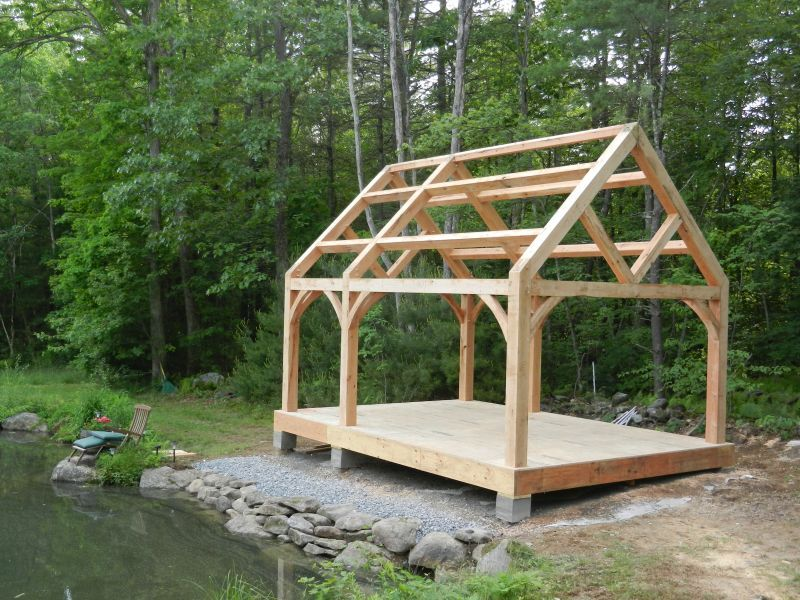 image result for timber frame greenhouse