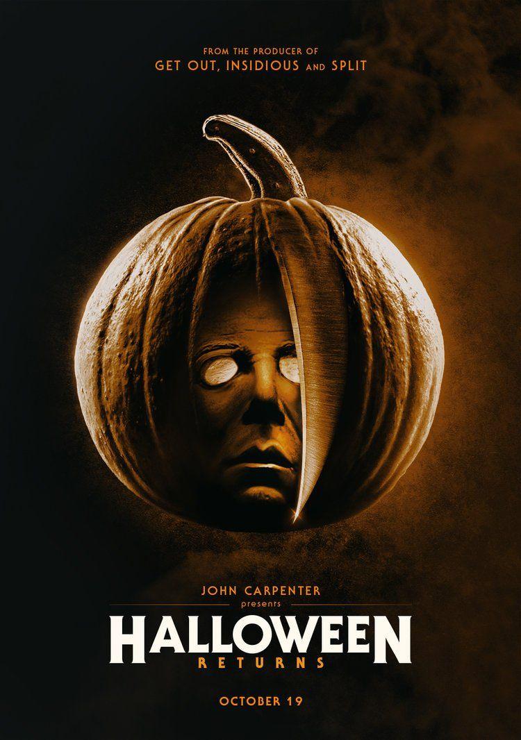 Einai Isws Apo Ta Pio Polyanamenomena Kai Allokota Sequel Klasikhs Tainias Tromoy Poy Exoyme Dei Halloween Movie Poster Halloween Film Michael Myers Halloween