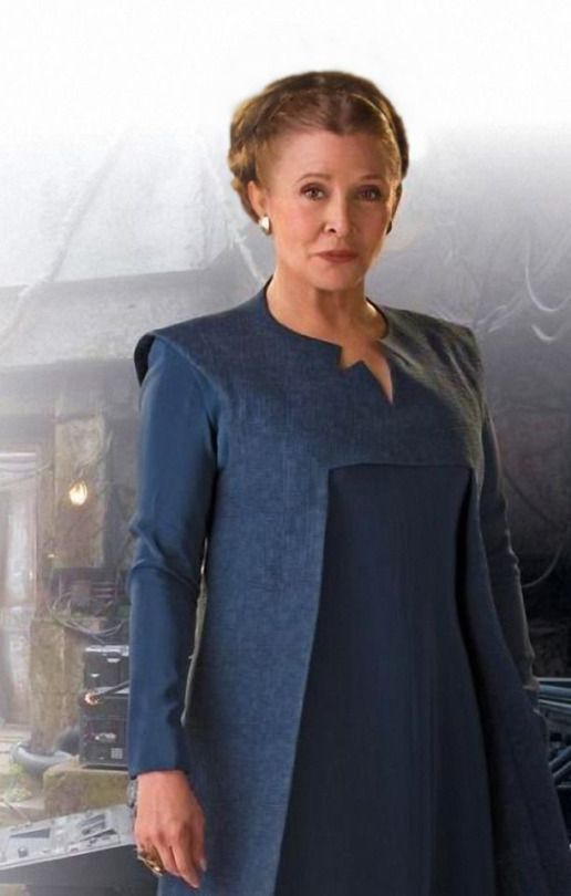 ae4648e4059 General Leia Organa from Star Wars Episode 7 The Force Awakens ...