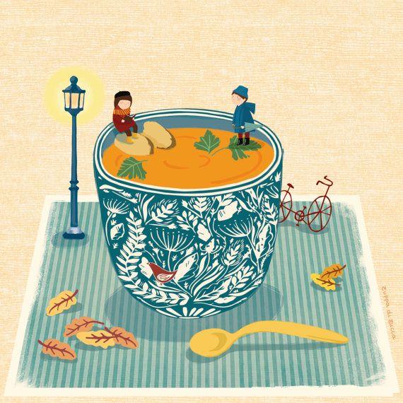 Pumpkin Soup On MamaBumBum boutique by Maria Sole Macchia
