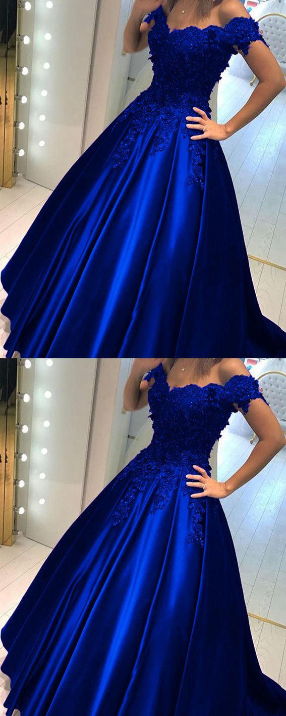 Elegant vneck off the shoulder lace beaded prom dresses floor