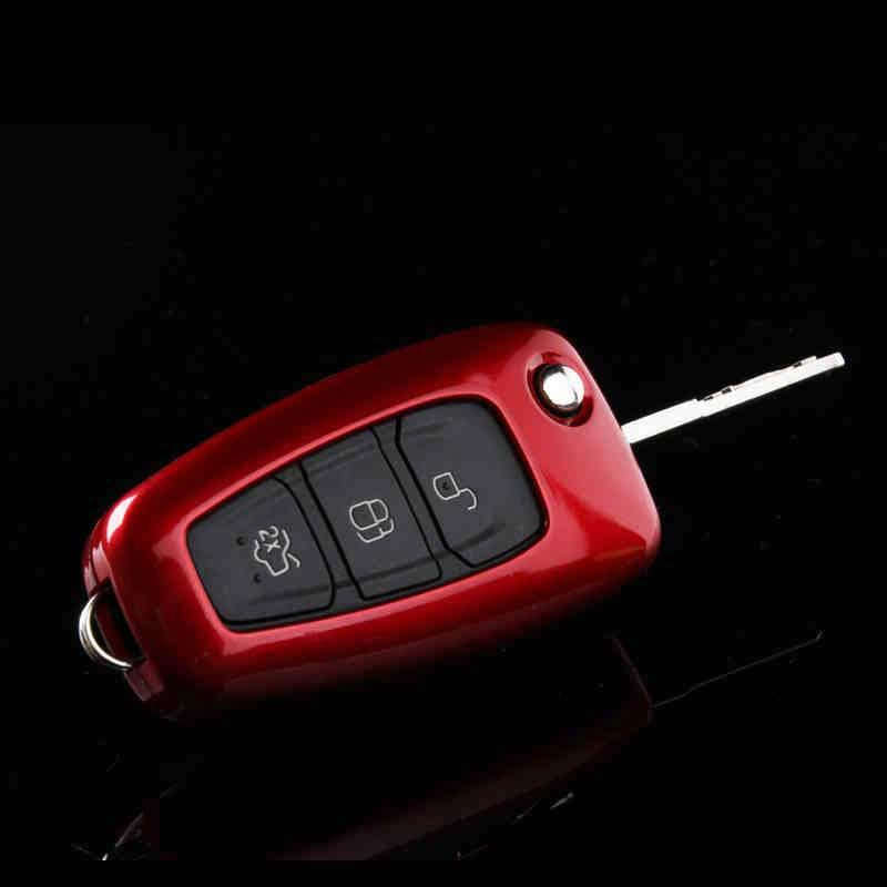 Car Styling Key Cover Case For Ford Focus 3 4 St Kuga Mondeo Mk4 Fiesta Fusion Ecosport 2012 2013 2014 2015 Abs Keychain For Ford Focus Key Covers Ford Focus 3