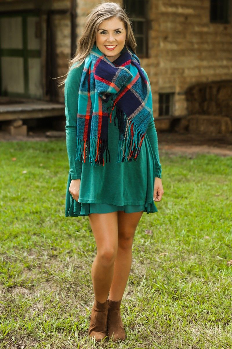 By The Fireside Dress-Bayou - New Today | The Red Dress Boutique