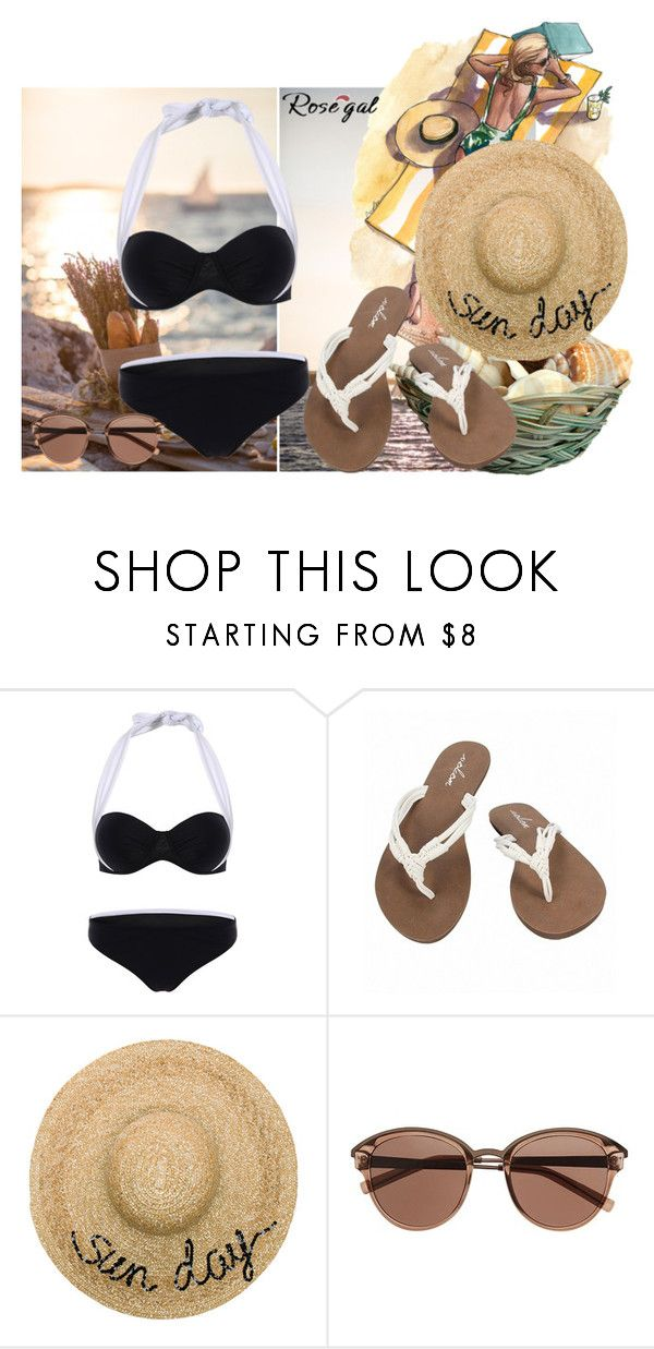 """""""Untitled #100"""" by hemy-908 ❤ liked on Polyvore featuring Volcom, Eugenia Kim and Witchery"""