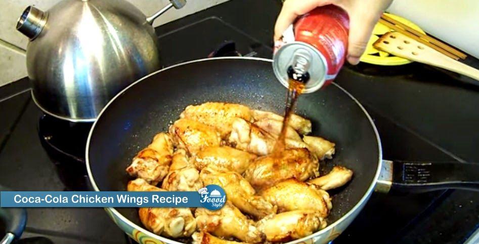 Foood Style: Coca-Cola Chicken Wings Recipe