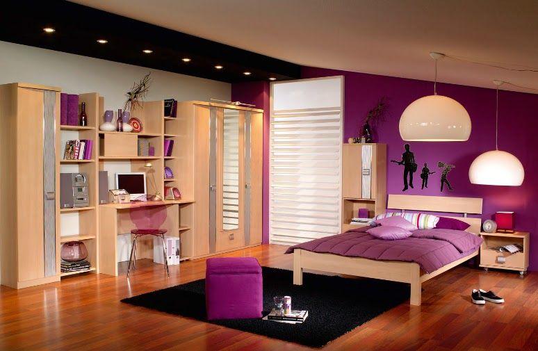 C mo pintar el dormitorio de una chica adolescente color - Como pintar mi cuarto ...