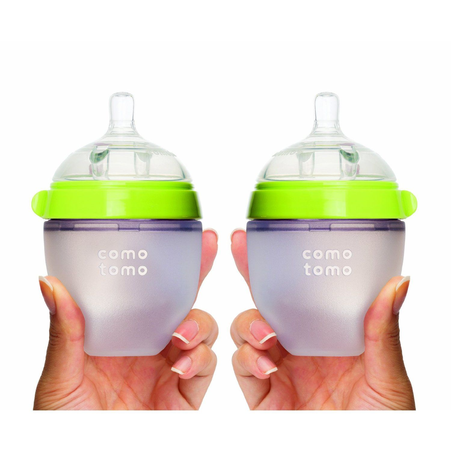 Comotomo Silicone Baby Bottle Double Pack 150ml 5oz Green Amazon Ca Comotomo Silicone Baby Bottle Double Pack 2 Baby Bottles Silicone Baby Bottles Comotomo