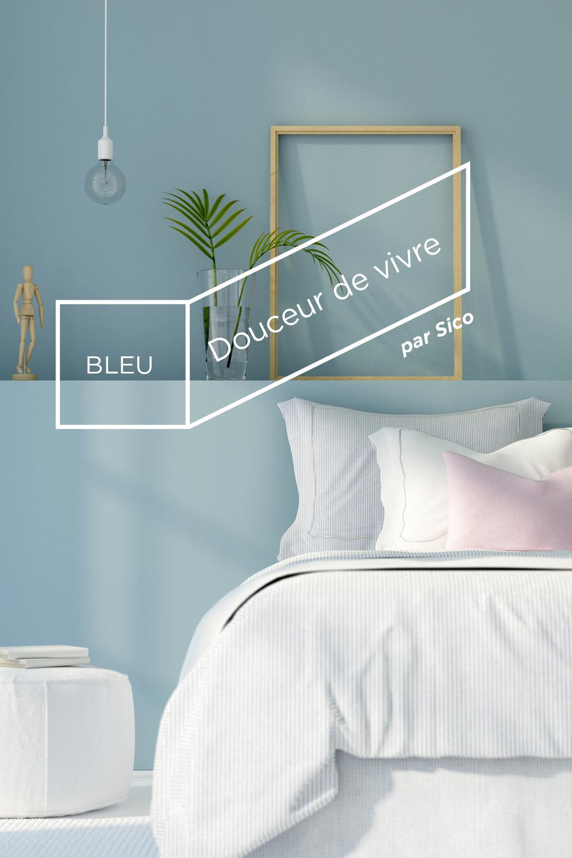 peinture sico le bleu attire l homme vers l infini une belle citation du peintre wassily. Black Bedroom Furniture Sets. Home Design Ideas