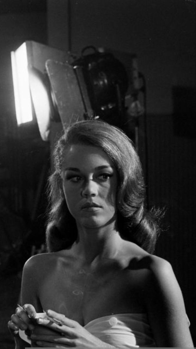 Jane Fonda publicity photos for The Chapman Report (1962