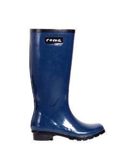 Roma BootsRoma Boots Glossy Royal Blue Rain Boots