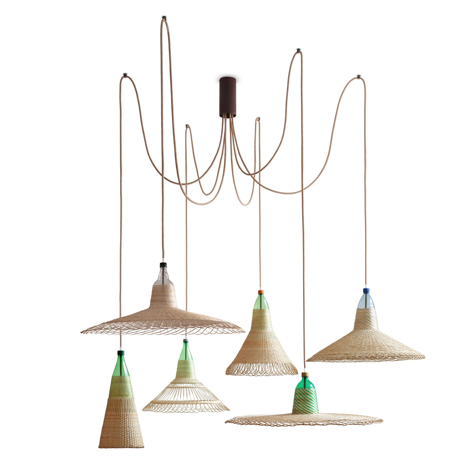 PET Lamp   CHIMBARONGO set de 6. Interesantes lámparas