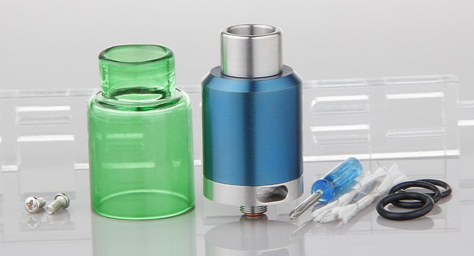 KENNEDY 24 Styled RDA Rebuildable Dripping Atomizer Atomizers 5409504 - https://xtremepurchase.com/TechStore/2016/09/01/e-cigarettes-atomizers-5409504/