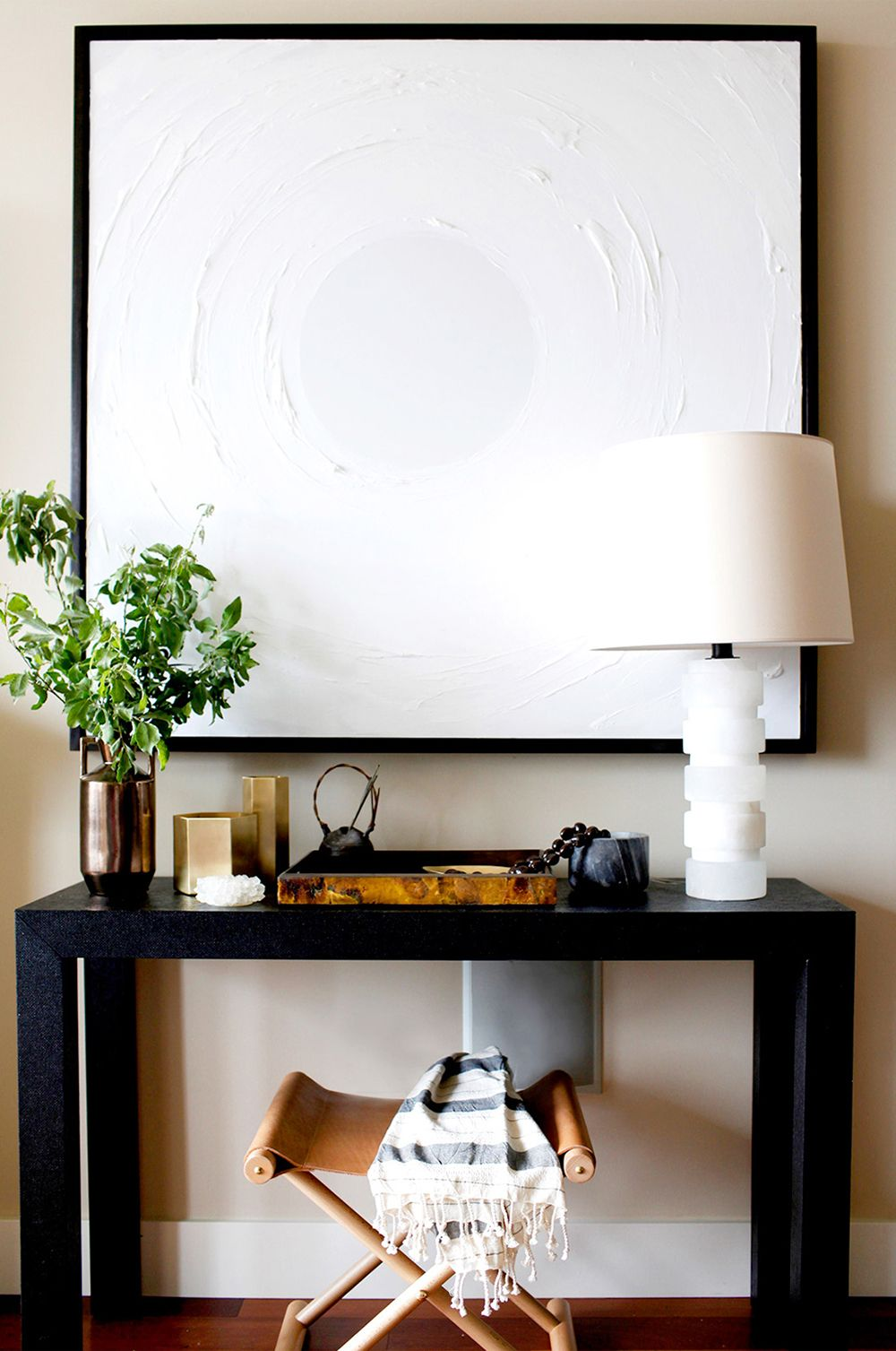 6 Ways to Style an Entryway Console Table - Room for Tuesday