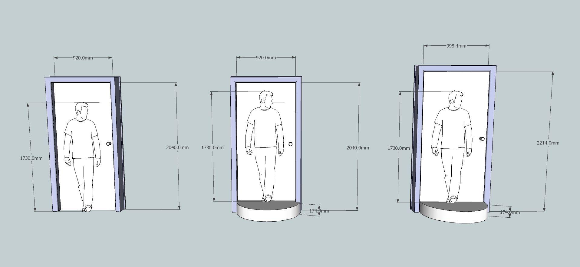 standard door sizes - Google Search | Fundamentals - la Biennale di ...
