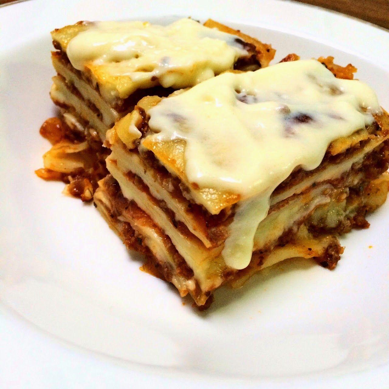 Easy Cooking With Omih Resep Lasagna Masakan Simpel Makanan Memasak