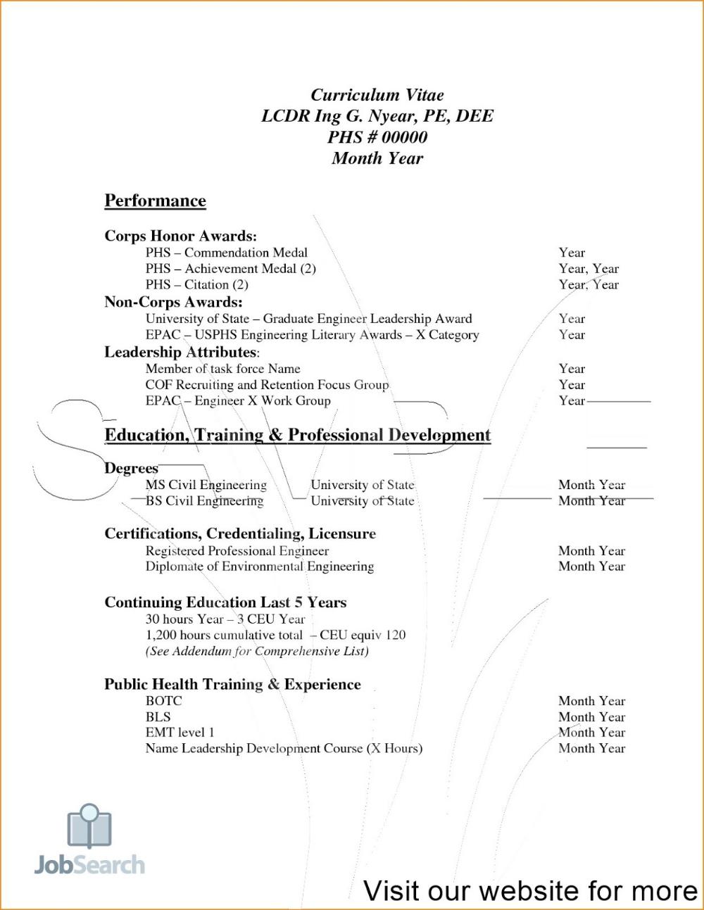 Job Resume PDF 2020 Job Resume for Freshers in 2020