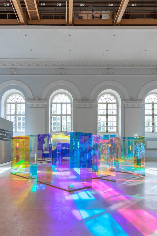 Future Materiality Pavilion / Pravda   ArchDaily
