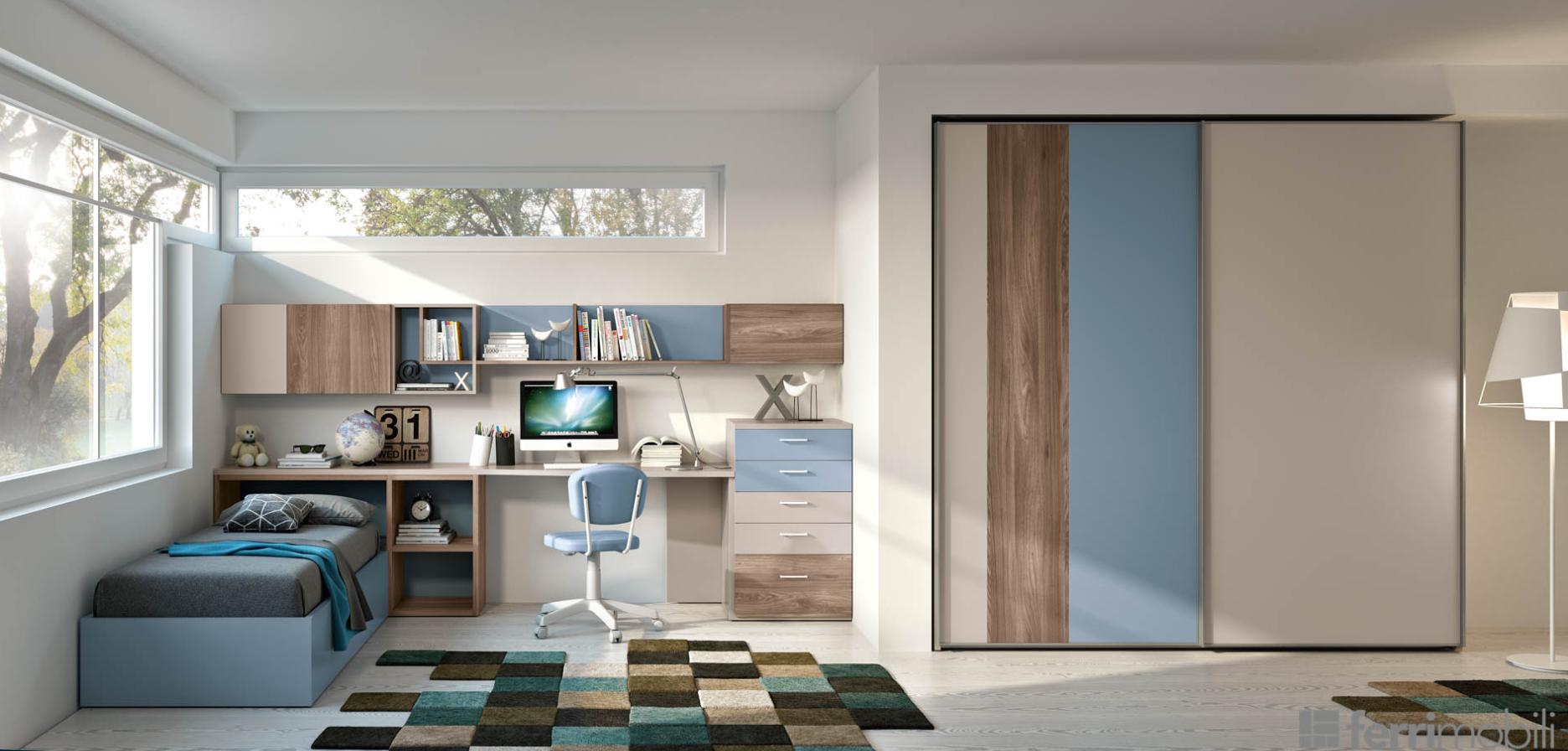 Idee camerette stanze per bambini stanza di bambino for Camerette design