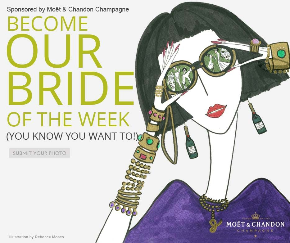 Bride, Wedding, Moet Chandon