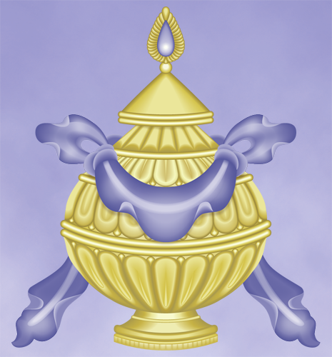 Eight Sacred Symbols The Great Treasure Vase The Treasure Vase