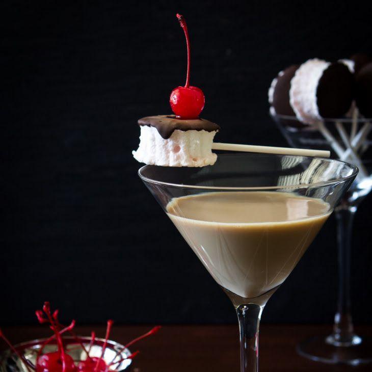 Chocolate Covered Cherry Martini Recipe With Godiva