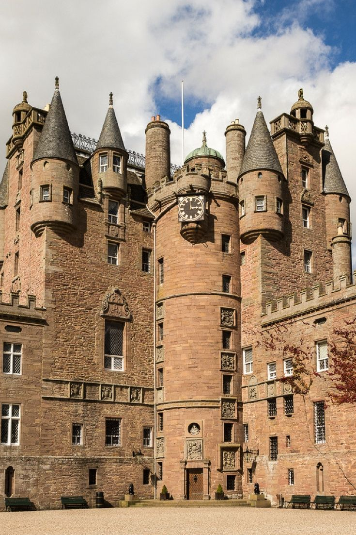 Visit Glamis castle on a castle-themed road trip in Scotland. What a fun summer adventure this would be!