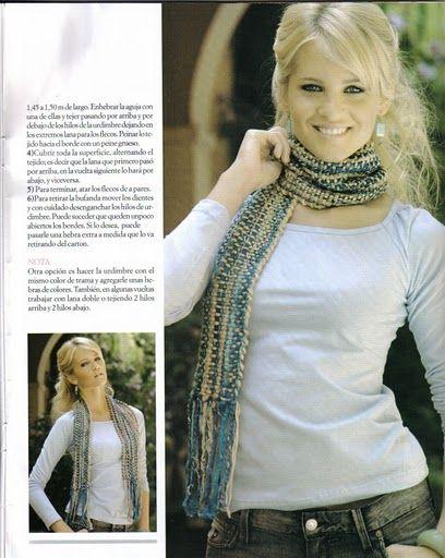 >Algunos patrones para inspirarse…entre ellos un bolero hecho con rectangulo simil bufanda!(ENTRADA EDITADA!)   elblogdelaindia
