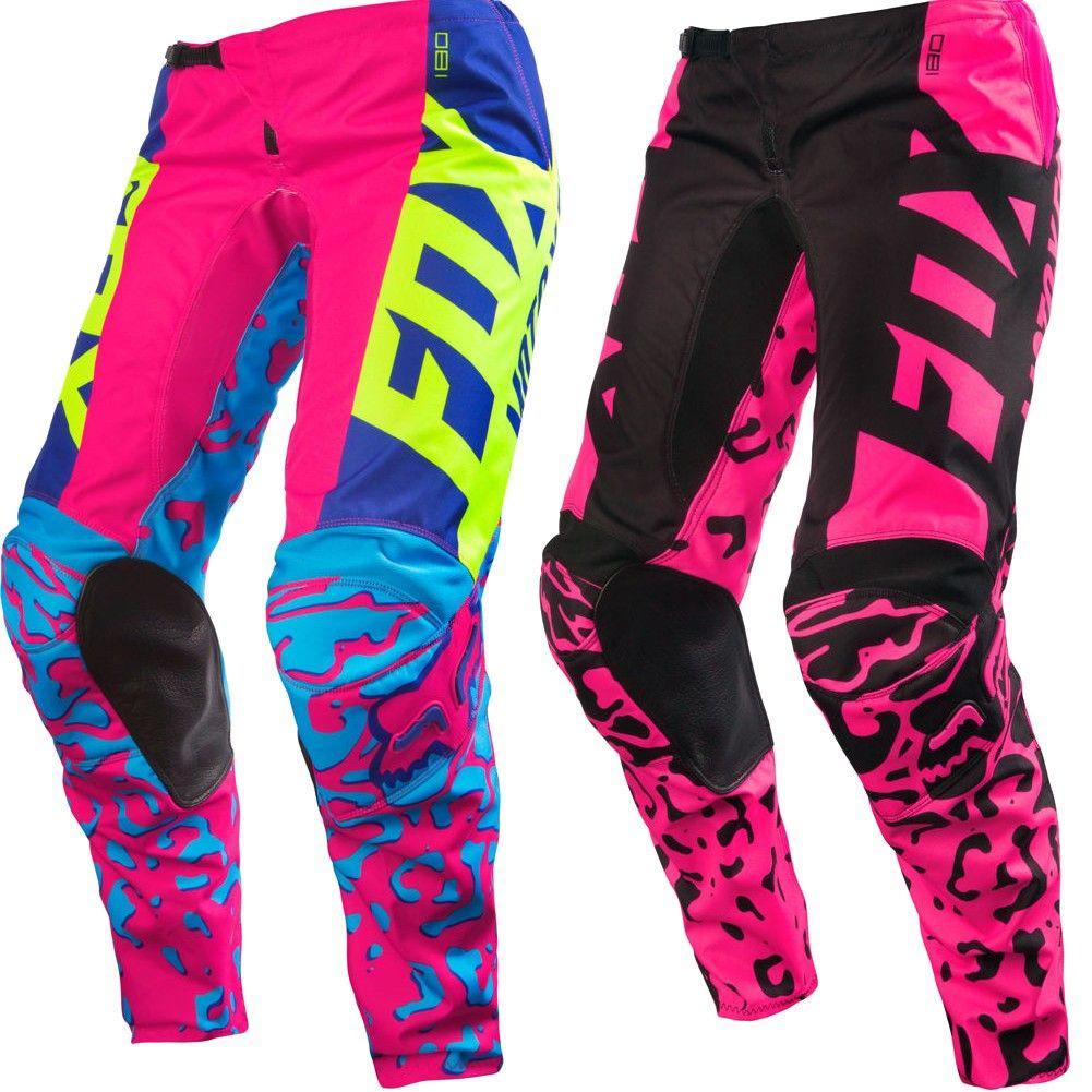 Fox Racing 180 Kids Girls Motocross Pants Dirt Bike Girl Motocross Pants Motocross