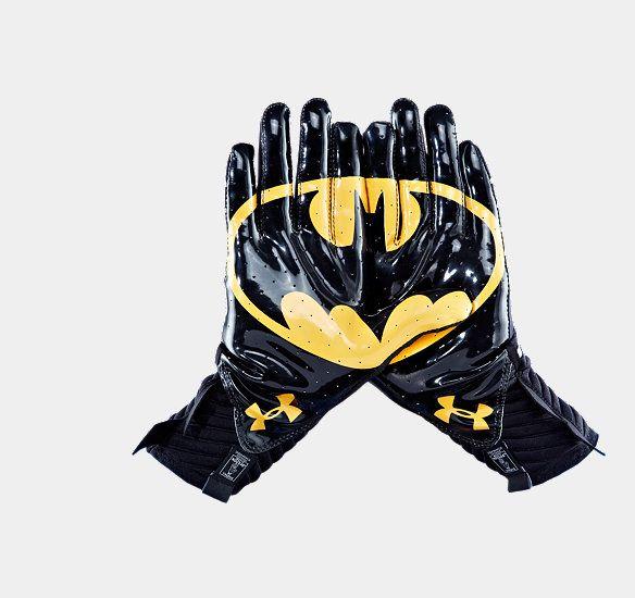 Men's Under Armour® Alter Ego Batman Highlight Football Gloves