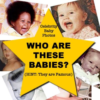 GUESS WHO: Celebrity Baby Pics 2 ★ Can you guess the ...