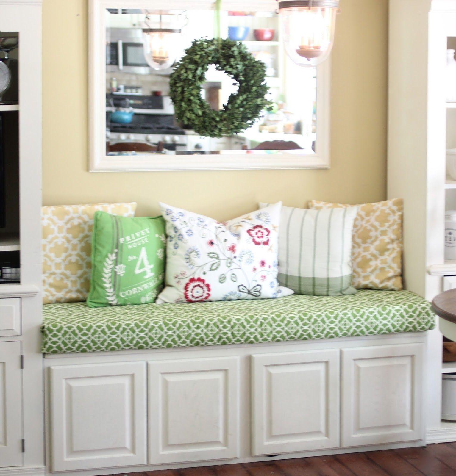 No Sew Bench Cushion Bench cushions, Window seat
