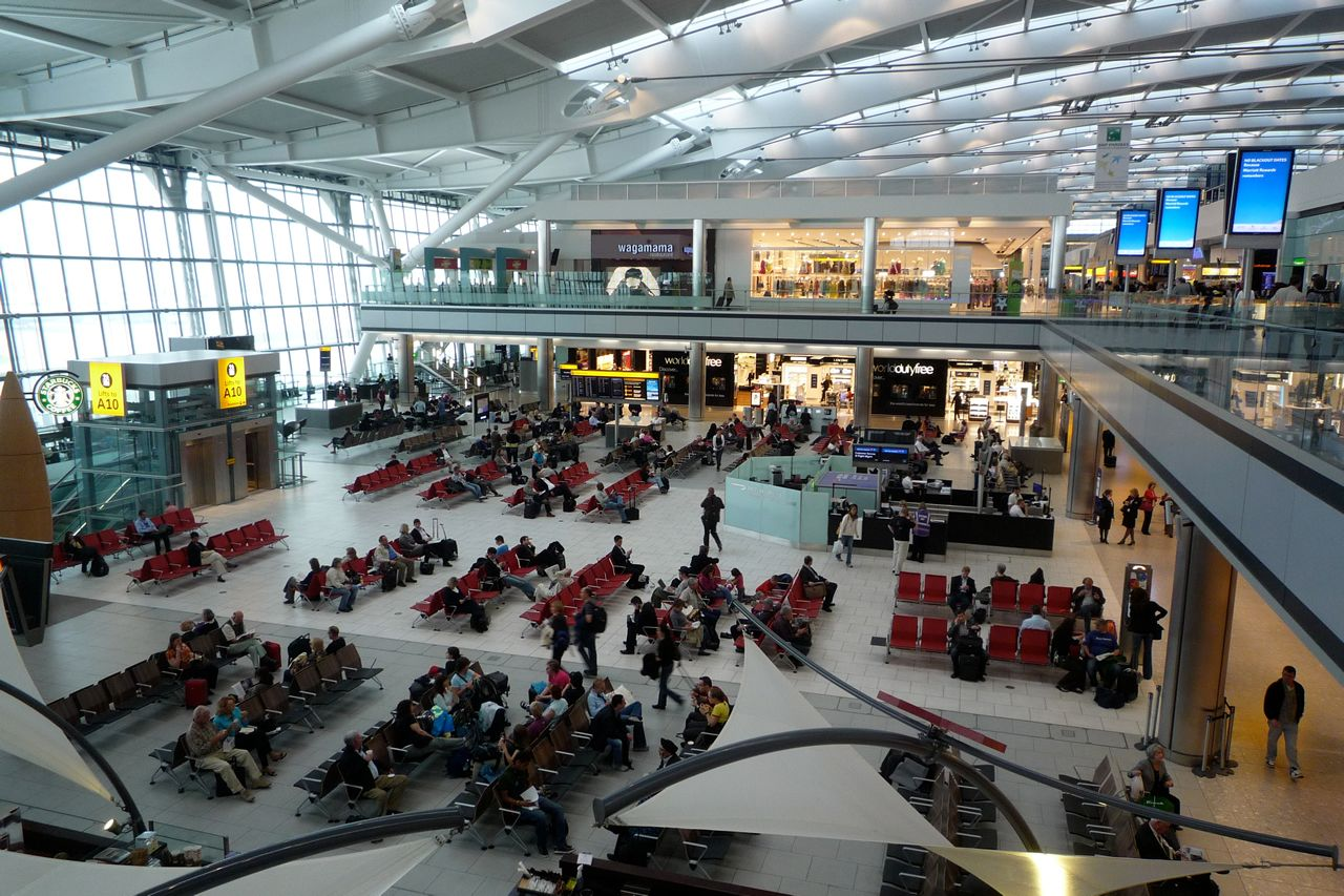 Gatwick Airport London As Soon As The Plane Touched The Ground